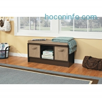 ihocon: ClosetMaid 3-Cube Bench, Espresso - Walmart.com