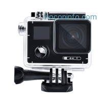 ihocon: 4K Sport Action Camera, POTO F88 Waterproof Sports DV 2.0'' LCD Dual Screen Video Cam, Supprt Car DVR Camera Function