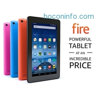 ihocon: Fire Tablet with Alexa, 7 Display, 16 GB, Blue - with Special Offers (Previous Generation - 5th)