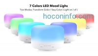 ihocon: Aropey 120ml Essential Oil Diffuser / Cool Mist Ultrasonic Humidifier七色變換超音波精油擴香機室內加濕器