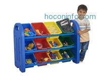 ihocon: ECR4Kids 3-Tier Storage Organizer三層玩具收納櫃