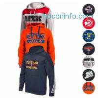 ihocon: NBA Assortment of Team Color Hoodie Fleece Collection by MAJESTIC & ADIDAS Men's