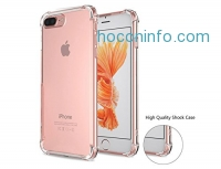 ihocon: iPhone 7 Plus 透明手機套 Case With Drop Protection/Shock Bbsorption