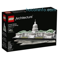 ihocon: LEGO Architecture 21030 United States Capitol Building Kit (1032 Piece)