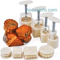 ihocon: Hewnda Manual pressure moon cake mold baking mold月餅模