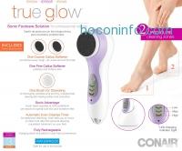 ihocon: True Glow by Conair Sonic Pedicure Kit超音波電動足部護理器