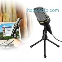 ihocon: ELEGIANT SF-920 Multimedia Studio Wired Microphone with Tripod麥克風含腳架