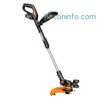 ihocon: WORX 20-Volt GT 2.0 String Trimmer/Edger/Mini-Mower with Tilting Head and Single Line Feed – WG160