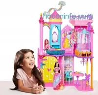 ihocon: Barbie DPY39 Rainbow Cove Princess Castle Playset 芭比彩虹公主城堡