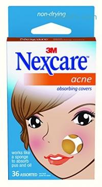 ihocon: Nexcare Acne Absorbing Cover, Two Sizes, 36 Count青春痘貼