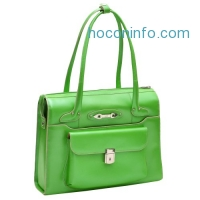 ihocon: McKlein USA Wenonah - Ladies' Leather Laptop Briefcase