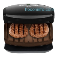 ihocon: George Foreman 智烤爐 GR136B 2-Serving Classic Plate Grill and Pannini Press