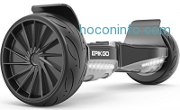 "ihocon: EPIKGO Self Balance Board - UL2272 Certified, All-Terrain 8.5"" Racing Wheels, 400W Dual-Motor"