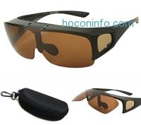 ihocon: Bestum Driving Glasses Wraparounds Polarized Fitover Sunglasses外掛式偏光太陽眼鏡