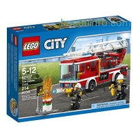 ihocon: LEGO CITY Fire Ladder Truck 60107