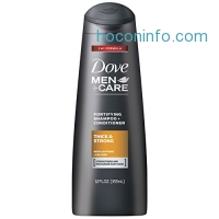ihocon: Dove Men+Care 2 in 1 Shampoo and Conditioner, Thick and Strong 12 Ounce
