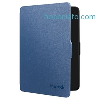 ihocon: Inateck Kindle Paperwhite Folio Case for Amazon All-New Kindle Paperwhite 2015 300 PPI 3rd gen/ 2014/ 2013/ 2012, with Magnetic Auto Sleep Wake Function, Blue
