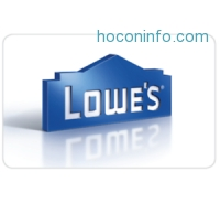 ihocon: $150 Lowe's Gift Card只賣$135 - Fast Email delivery