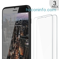 ihocon: iPhone 7 Plus Tempered Glass Screen Protector [3 Pack]強化玻璃螢幕保護貼