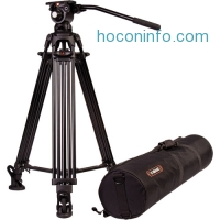 ihocon: E-Image 2-Stage Aluminum Tripod with GH03 Head