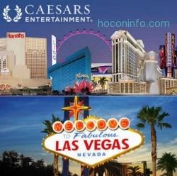 Caesars集團: 旅館訂房 5% off