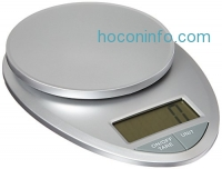 ihocon: EatSmart Precision Pro Digital Kitchen Scale, Silver廚用電子秤