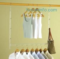 ihocon: Heavy Duty Xtra Closet Organizer with 8 Bonus Hangers