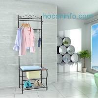 ihocon: LANGRIA Entryway Garment Rack Storage玄關衣帽, 鞋架