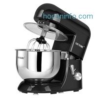 ihocon: CHEFTRONIC Stand Mixers SM-986 120V/650W 5.5qt Bowl 6 Speed Kitchen Electric Mixer Machine