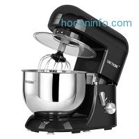ihocon: CHEFTRONIC Stand Mixers SM-986 120V/650W 5.5qt Bowl 6 Speed Kitchen Electric Mixer Machine
