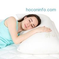 ihocon: Floureon Shredded Memory Foam Pillow塊狀記憶棉枕頭