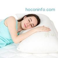 ihocon: Floureon Shredded Memory Foam Pillow塊狀記憶棉枕頭