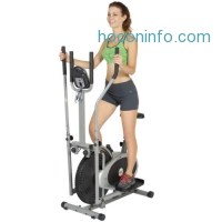 ihocon: Elliptical Bike 2 IN 1 Cross Trainer Exercise Fitness Machine Upgraded Model