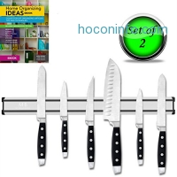 ihocon: STRONG MAGNETIC KNIFE HOLDER (SET OF 2) 磁性刀架