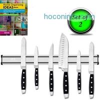 ihocon: STRONG MAGNETIC KNIFE HOLDER (SET OF 2) 磁性刀架
