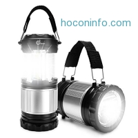 ihocon: ODOLAND 2-In-1 300 Lumen LED Lantern Handheld Flashlights二合一營燈手電筒