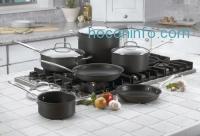 ihocon: Cuisinart 66-10 Chef's Classic Nonstick Hard-Anodized 10-Piece Cookware Set