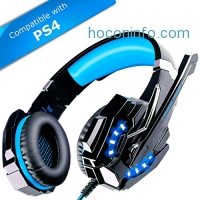 ihocon: ECOOPRO Stereo Gaming Headset with Microphone立體聲麥克風遊戲耳機