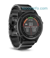 ihocon: Garmin fenix 3 HR 心率GPS智能腕錶 Watch
