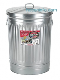 ihocon: Behrens 1270 31-Gallon Trash Can with Lid