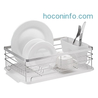 ihocon: Neat-O Stainless Steel Dish Drainer Drying Rack不銹鋼碗盤瀝水架