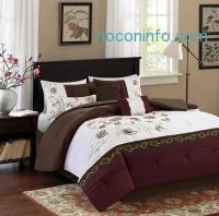 ihocon: Davina 7 Piece Comforter Set (King size or Queen Size)