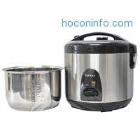 ihocon: Tayama 10 Cup Stainless Steel Rice Cooker