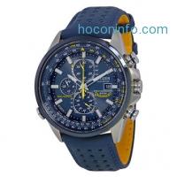 ihocon: Citizen Eco Drive Blue Angels World Chronograph Mens Watch AT8020-03L光動能藍天使飛行表