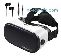 ihocon: MAGIOVE 3D VR Glasses Virtual Reality Headset虛擬現實頭戴顯示器