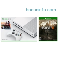 ihocon: Xbox One S 500 GB Console - Battlefield 1 Bundle Plus Extra game Resident Evil 7