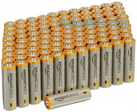 ihocon: AmazonBasics AA Performance Alkaline Batteries (100-Pack)電池