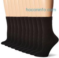 ihocon: Hanes Women's Crew Sock (Pack of 10)