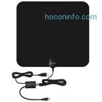 ihocon: Pictek 50 Miles Amplified Indoor HDTV Antenna室內天線