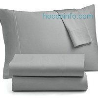 ihocon: OXA IMPROVED Bed Sheet Sets Brushed Microfiber - Soft, Non-fading, Not Crimping , Deep pocket - Queen, Grey, 4 Piece